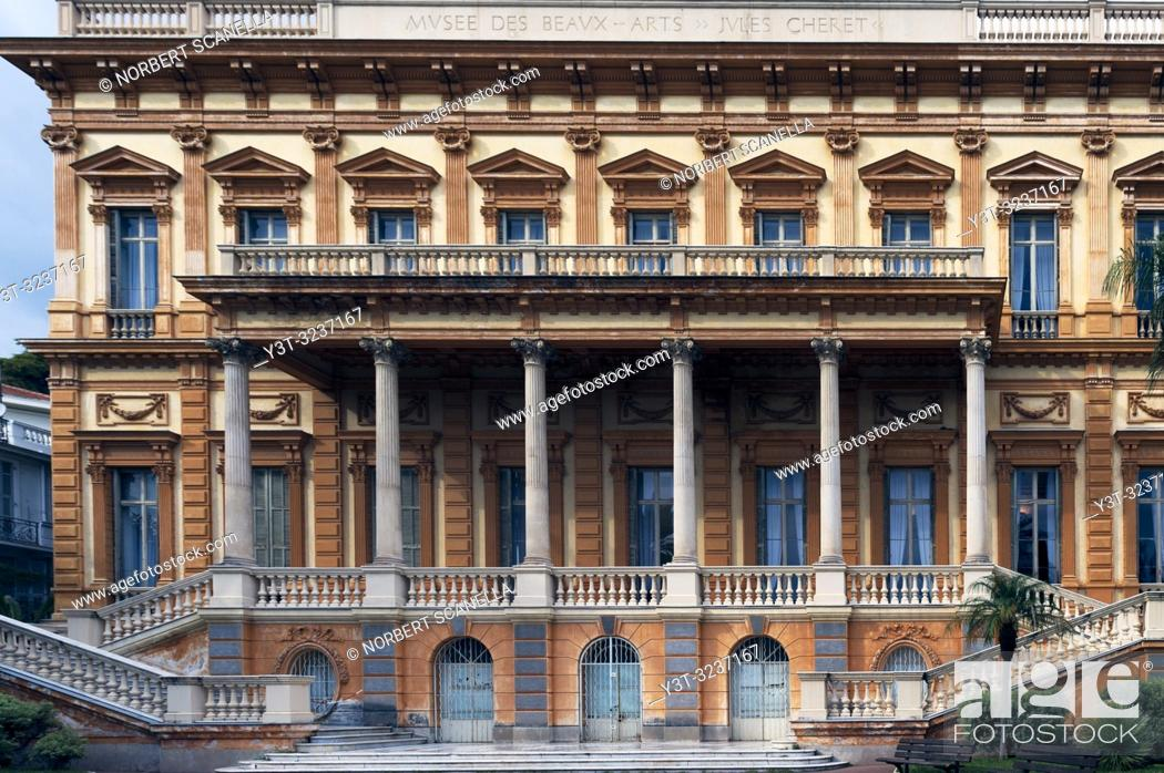 Stock Photo: France. Alpes-Maritimes (06) Nice. Jules Cheret Museum, Museum of Fine Arts.