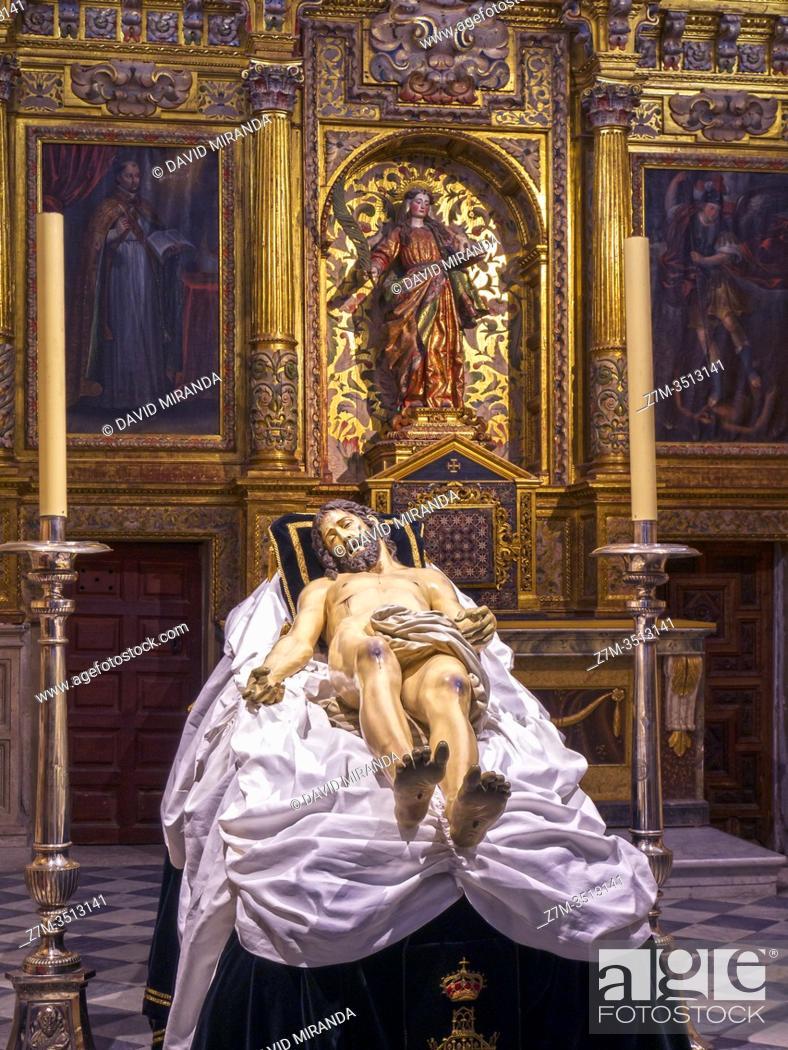 Imagen: Cristo muerto. Catedral del Salvador. Zamora. Castilla León. España.