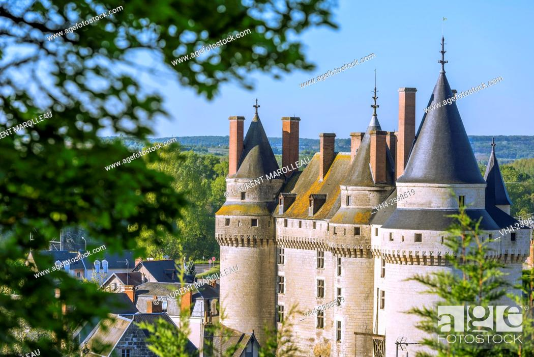 Imagen: The Castle of Langeais, Indre-et-Loire, Centre region, Loire valley, France, Europe.
