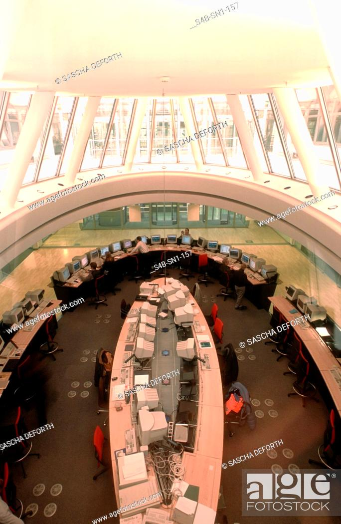 Imagen: Berlin Stock Exchange - Germany.
