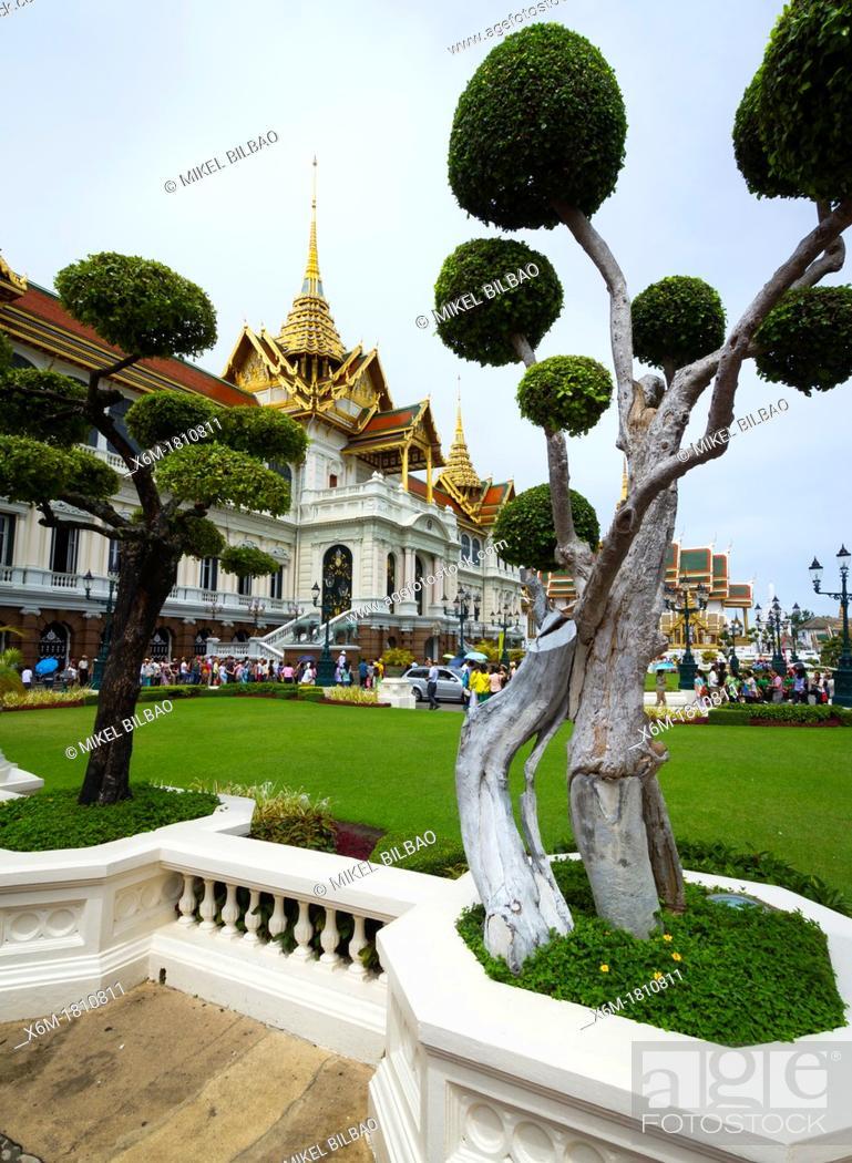 Imagen: Phra Thinang Chakri Maha Prasat buildings  Grand Palace  Bangkok, Thailand.