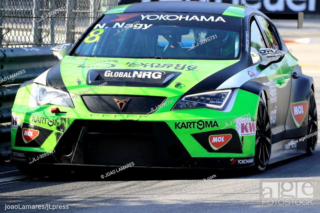 Stock Photo: N. Nagy, Cupra TCR #8, WTCR Race of Portugal 2018, Vila Real.