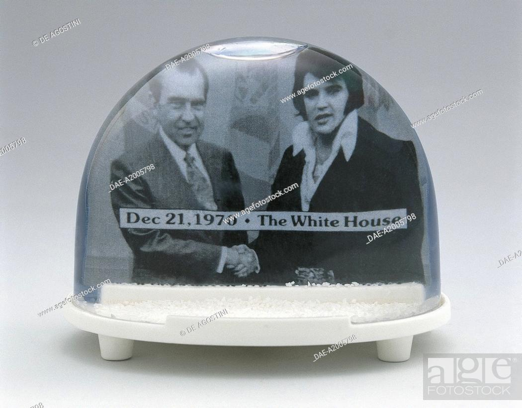 Collecting: Snowglobes - Elvis Presley and Richard Nixon to