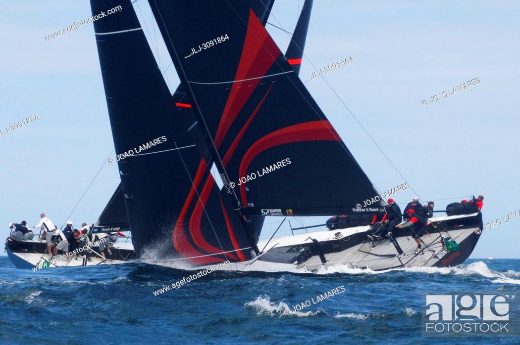 Stock Photo: Phoenix, #11, Owner: Hasso Plattner, Sail nr: RSA5211, Royal Cape Yacht Clu, Builder: Persico; Rolex TP 52 World Championship, TP52 Super Serires, Cascais.