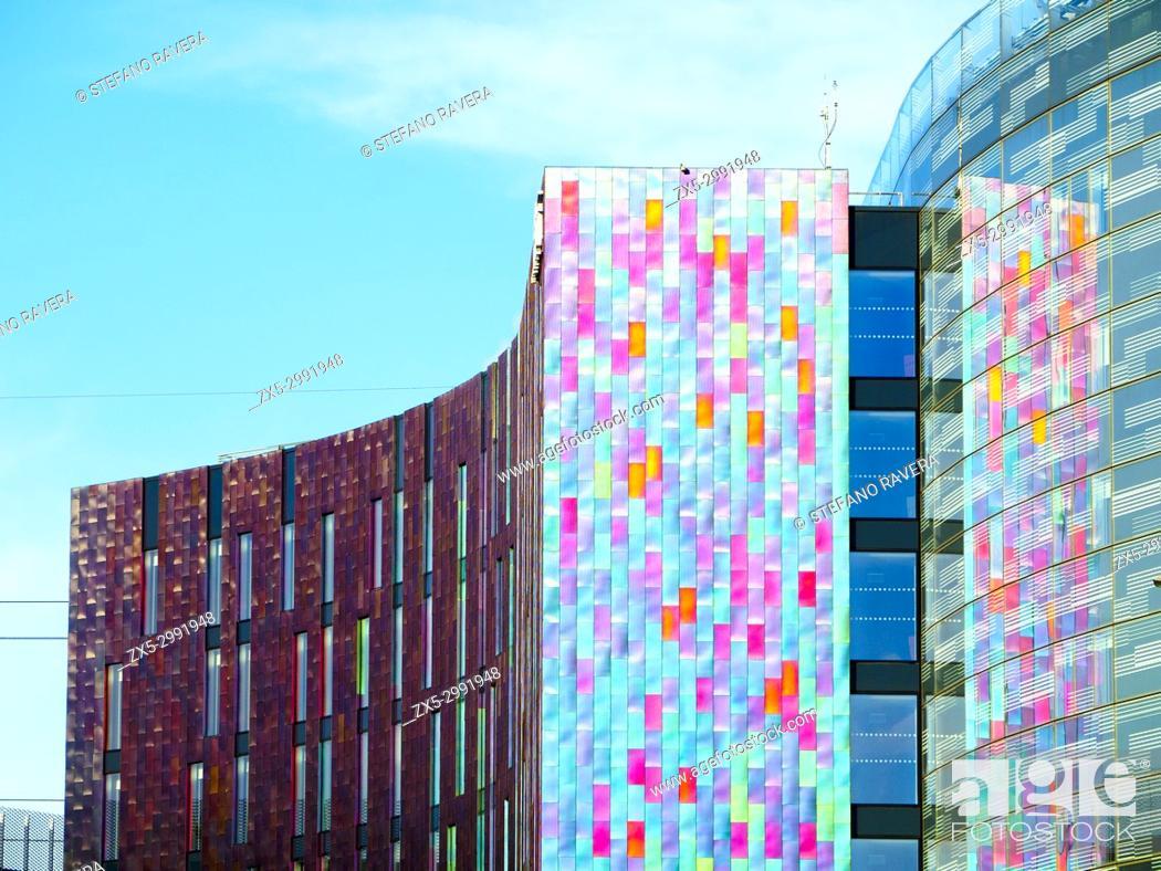 Stock Photo: The New Aloft London ExCel Hotel.