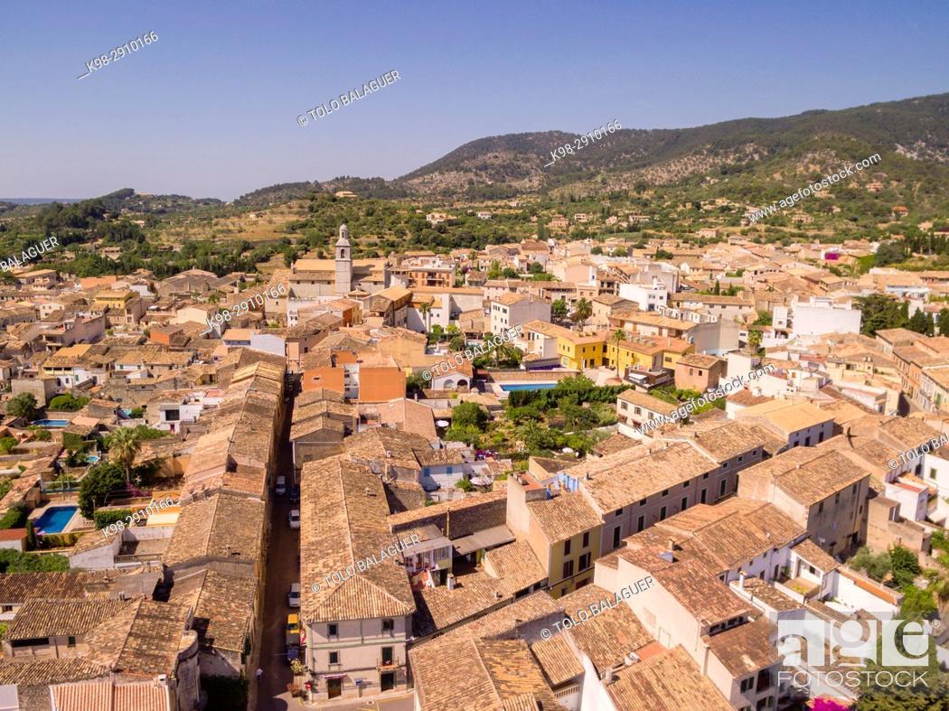 Stock Photo: Alaró, comarca de Raiguer, Mallorca, Balearic Islands, Spain.
