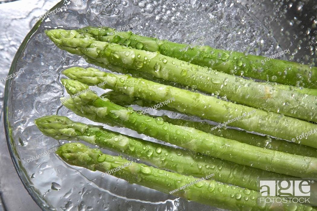 Stock Photo: Asparagus.