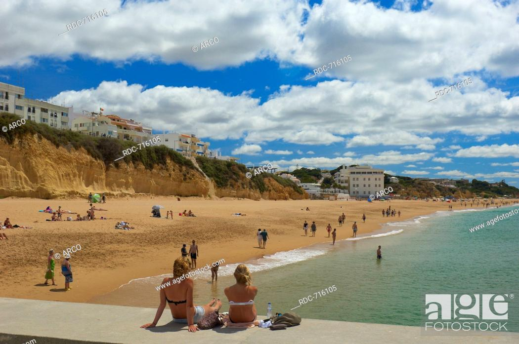 Stock Photo: Albufeira, Praia Dos Pescadores, Algarve, Portugal, Europe.
