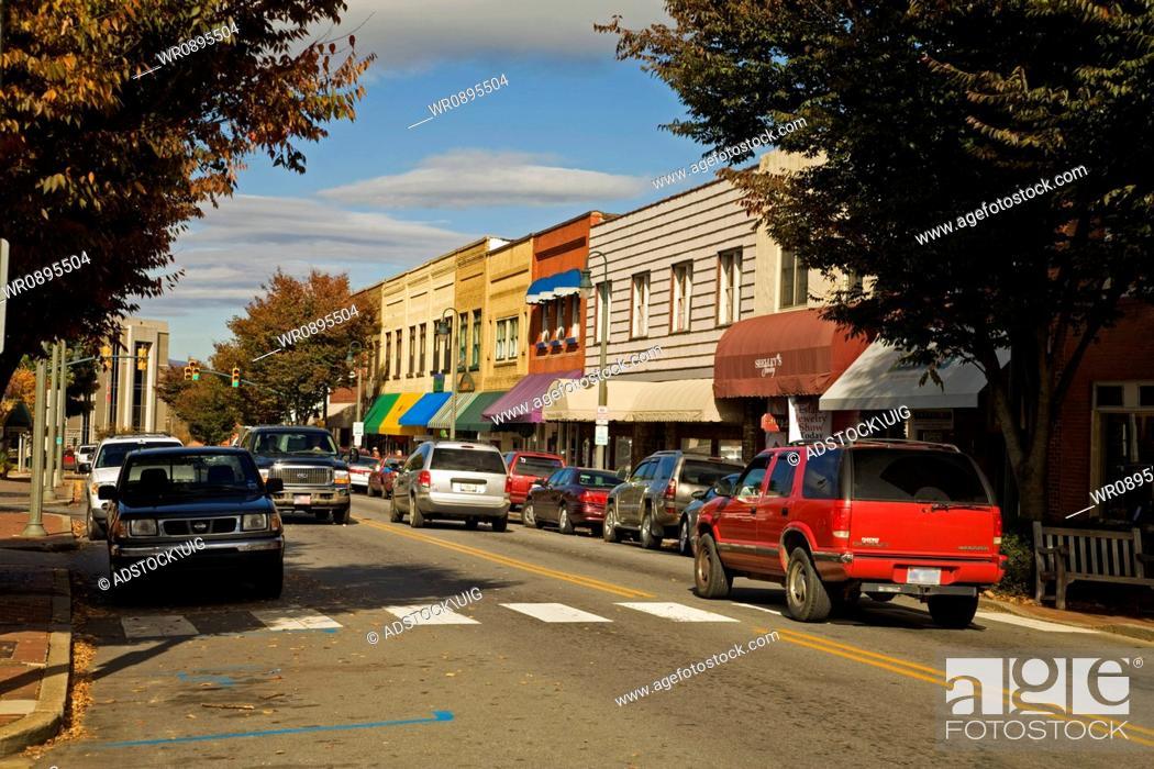 Stock Photo: Autumn, Waynesville, NC.