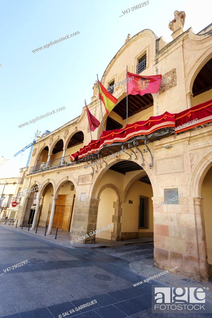 Imagen: Baroque facade of the town hall of Lorca, Murcia.