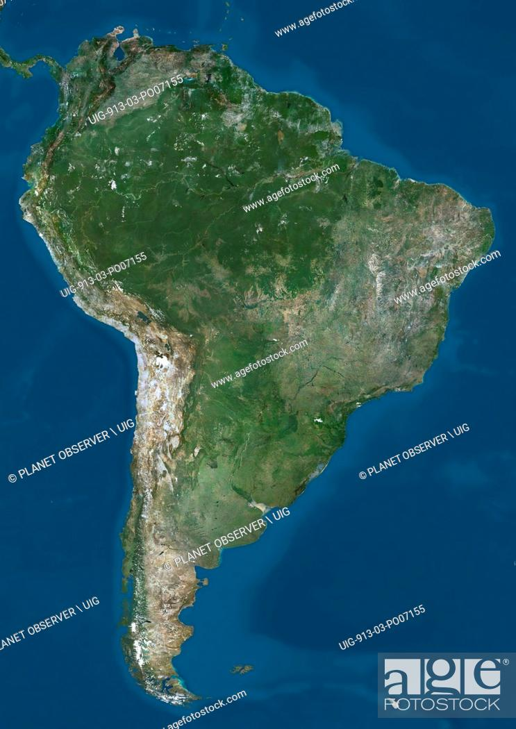 Satellite view of South America. This image was compiled ... on hd map of south america, precipitation of south america, labeled map of south america, physical features of south america, statistics of south america, google maps south america, physical map of south america, thematic map of south america, large map of south america, satellite maps of homes, north america, map of africa and south america, satellite maps of usa, complete map of south america, blank outline map of south america, a blank map of south america, full map of south america, current map of south america, google earth south america, topographic map of south america,