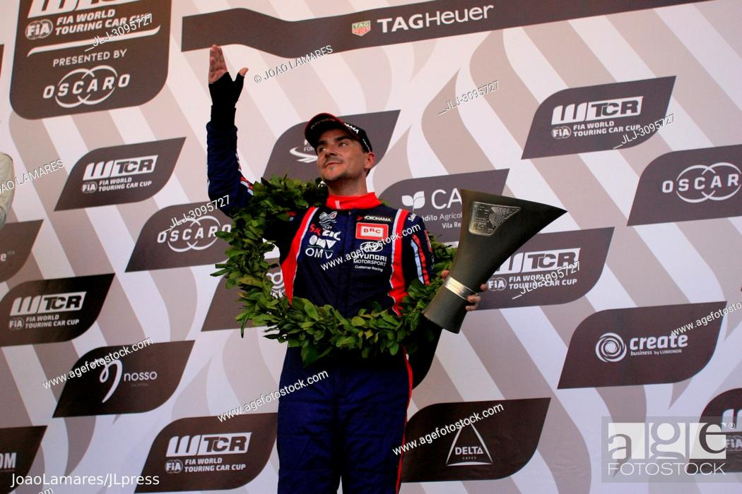 Stock Photo: N. Michelisz, Hyundai i30 N TCR #5, WTCR Race of Portugal 2018, Vila Real.