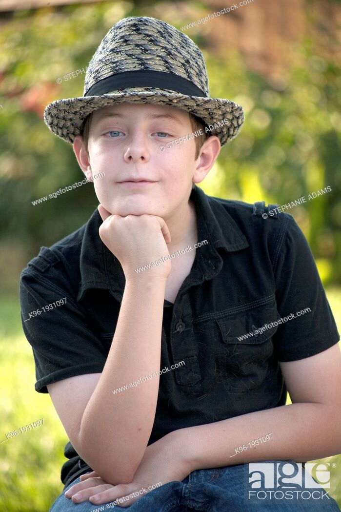 Stock Photo: Young boy.