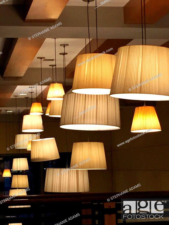 Photo de stock: Hanging Lights.