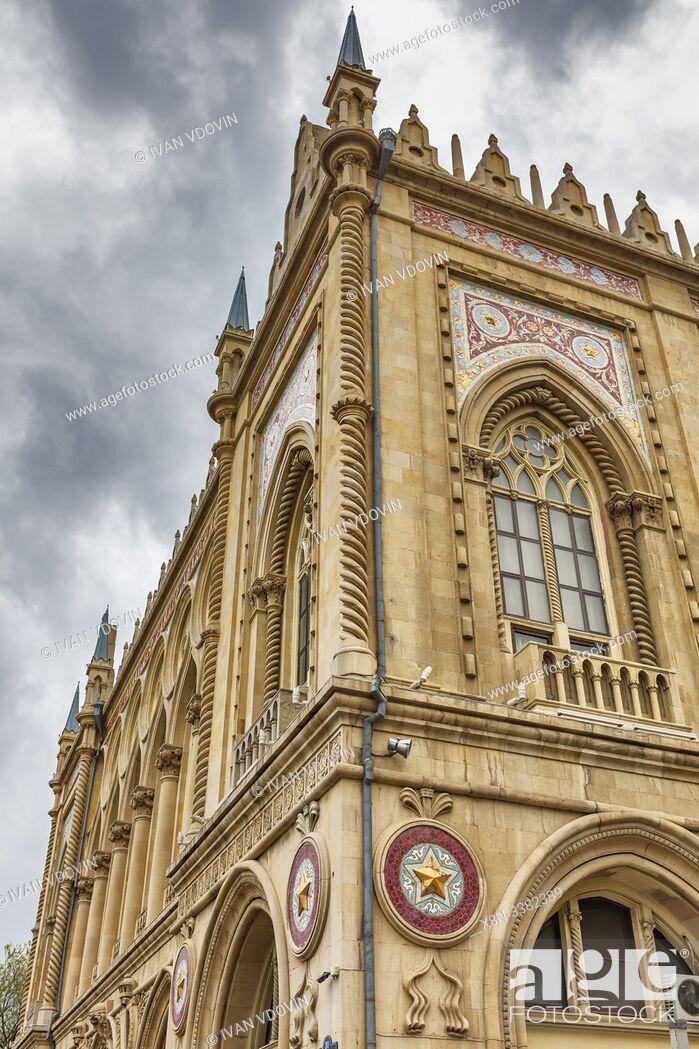 Stock Photo: Ismailiyya Palace, 1913, Baku, Azerbaijan.