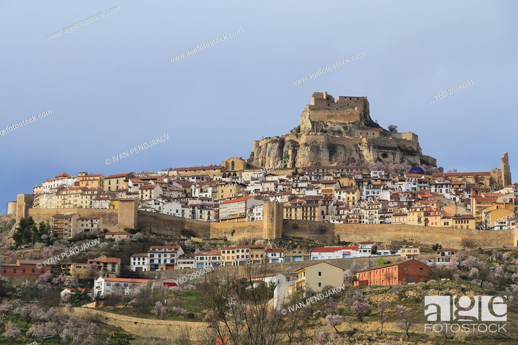 Stock Photo: Morella, Valencia, Spain.