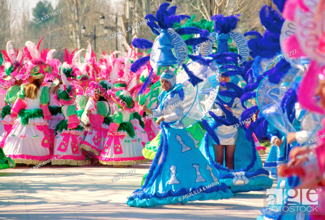 Stock Photo: Carnival. Ciudad Real. Spain.