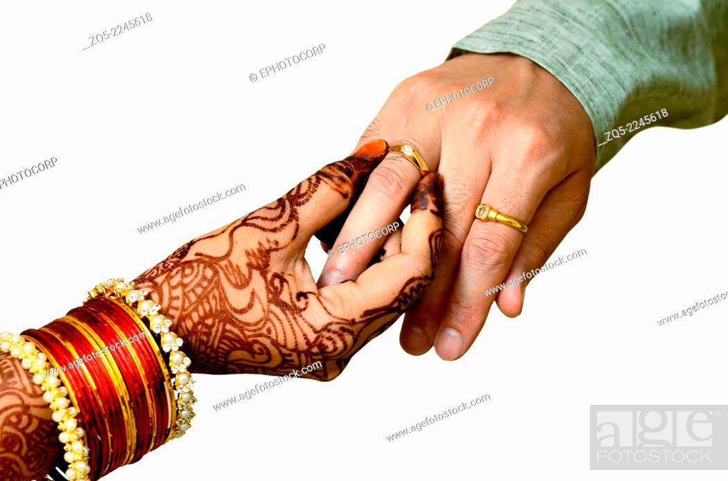 Engagement ring ceremony Marathi Maharashtrian bridegroom wearing