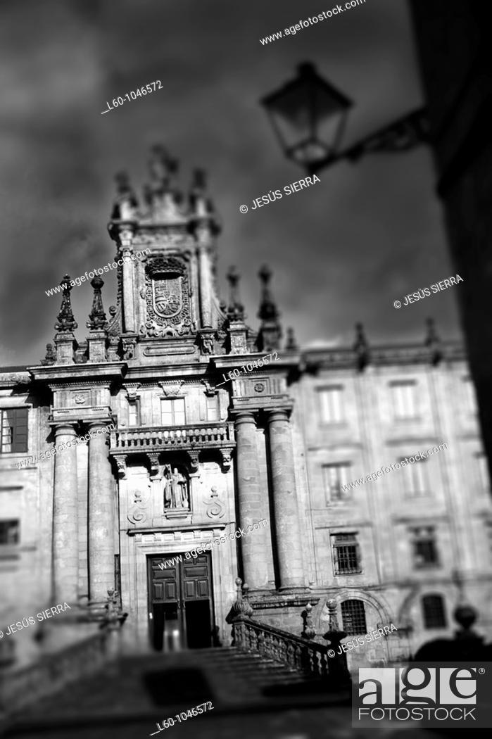 Stock Photo: Santiago de Compostela  Galicia, Spain.