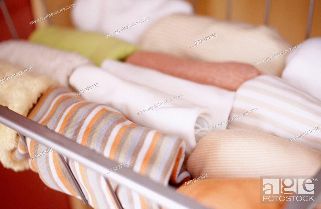 Stock Photo: Baby's shirts.