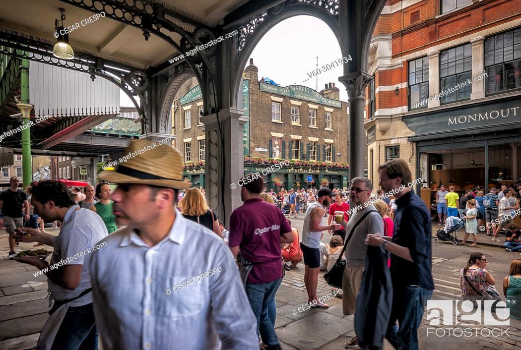 Stock Photo: -Borough Market-London (United Kingdom).