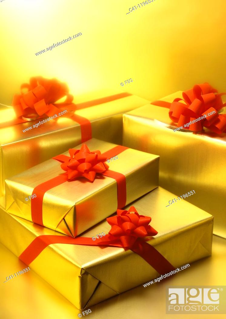 Stock Photo: Gifts.