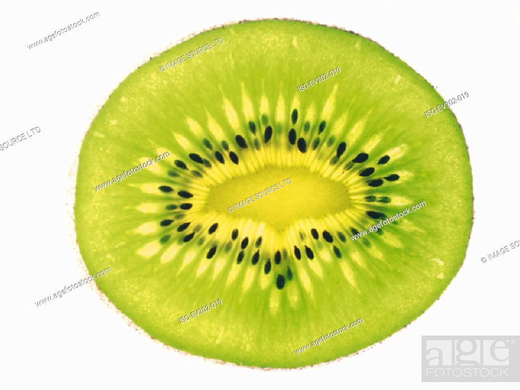Stock Photo: Kiwi fruit.