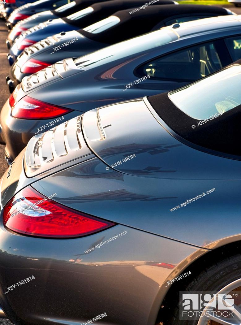 Stock Photo: Porsche Carrera detail.
