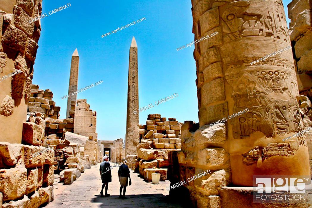 Stock Photo: Luxor, Egypt.