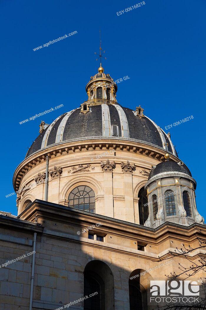 Stock Photo: Institut de France, Paris, France.
