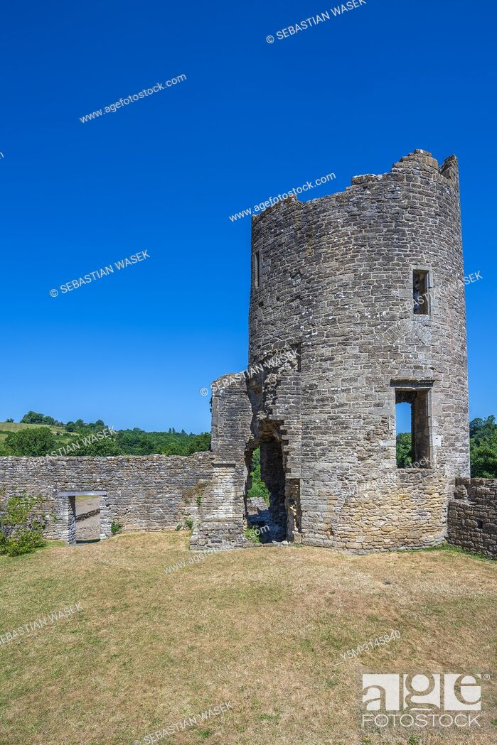 Stock Photo: Farleigh Hungerford Castle, Somerset, England, United Kingdom, Europe.