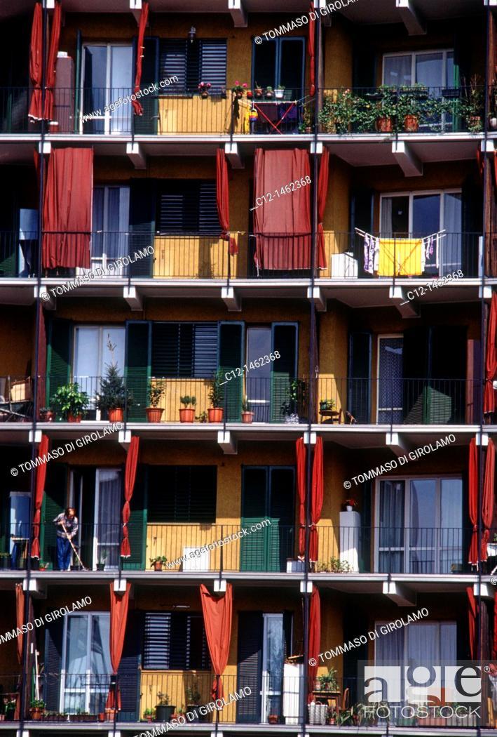 Stock Photo: Milano, architecture.