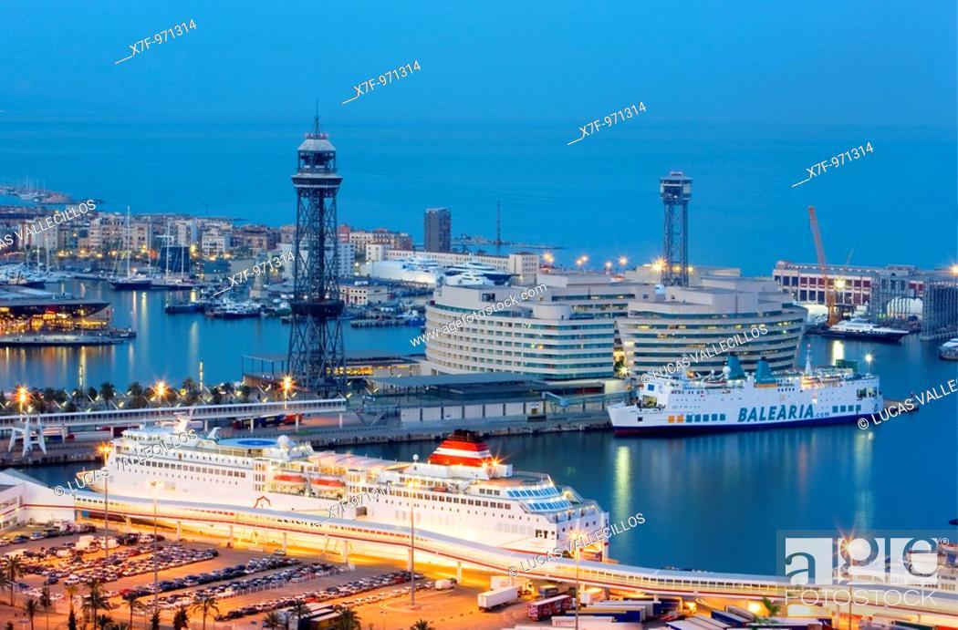 Photo de stock: Barcelona: Waterfront.