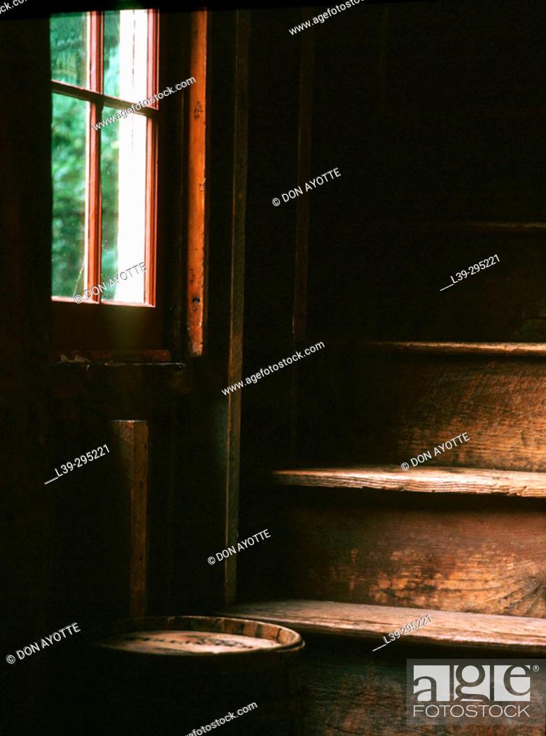 Stock Photo: Old barn. Deerfield, Massachusetts. USA.