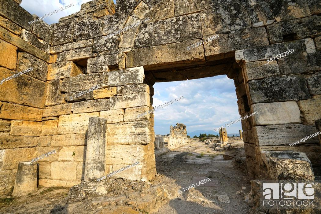 Photo de stock: Hierapolis. Ancient Greece. Asia Minor. Turkey.