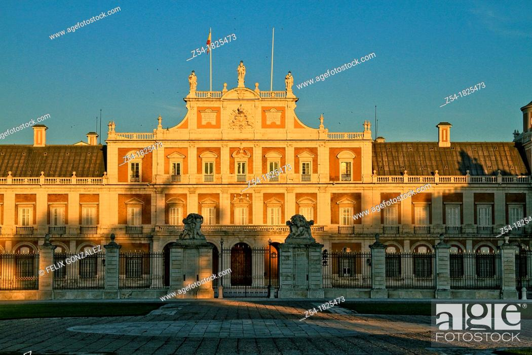 Imagen: The Royal Palace of Aranjuez, Madrid, Spain.