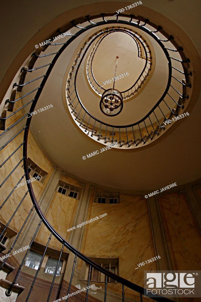 Stock Photo: Stairs in Paris.
