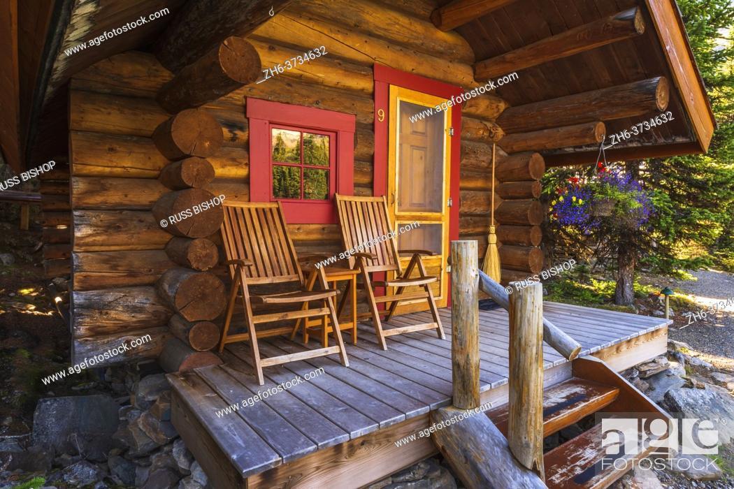 Imagen: Cabin at Lake O'hara, Yoho National Park, British Columbia, Canada.