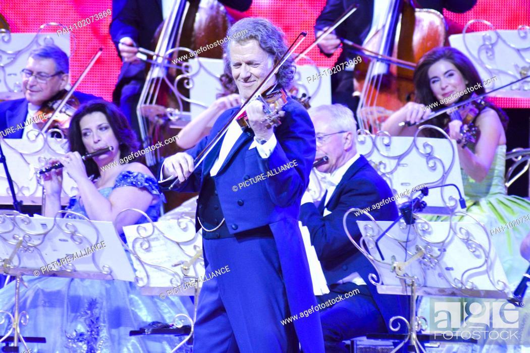 Andre Leon Marie Nicolas Rieu Dutch Violinist Orchestra Leader