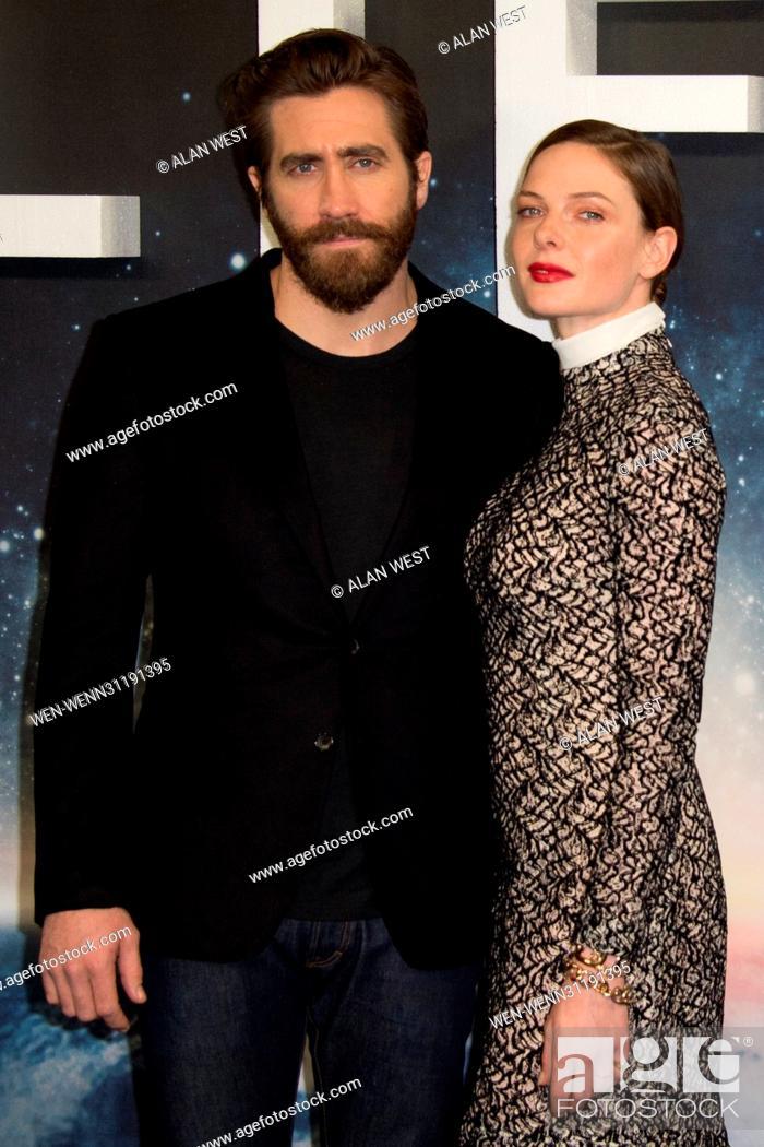 Jake Gyllenhaal, Rebecca Ferguson, Ariyon Bakare attend a