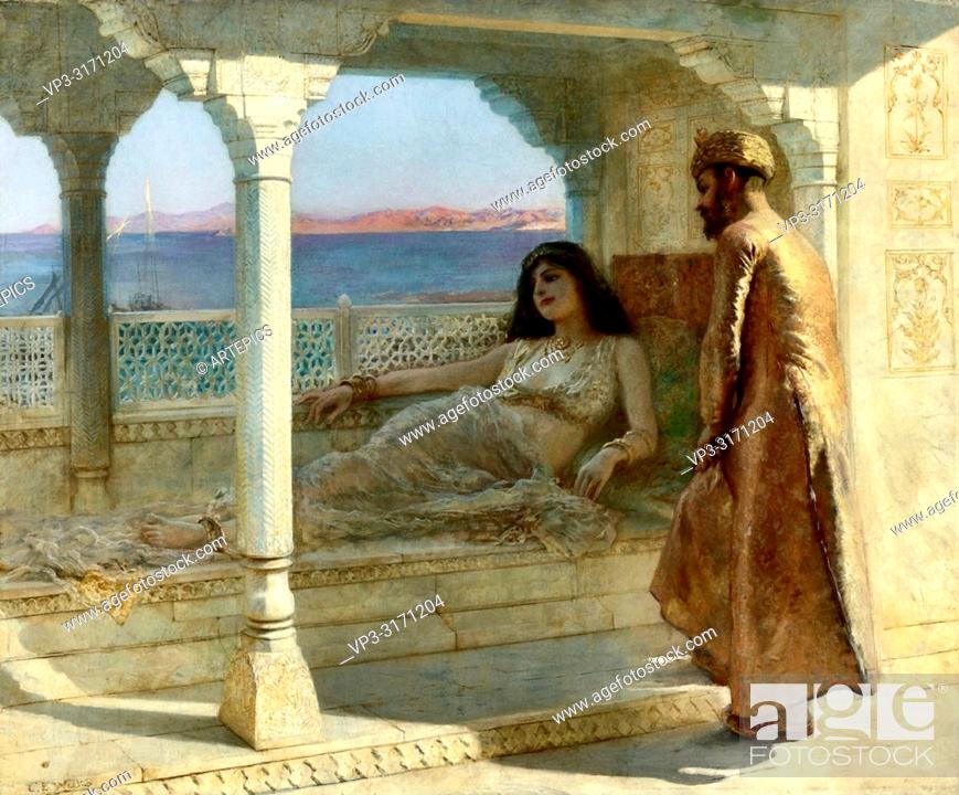 Stock Photo: Weeks Edwin Lord - the Doctor's Visit - 1001 Nights.