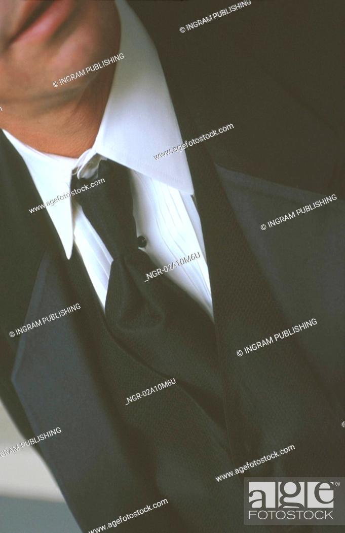 Stock Photo: Man in Tuxedo.