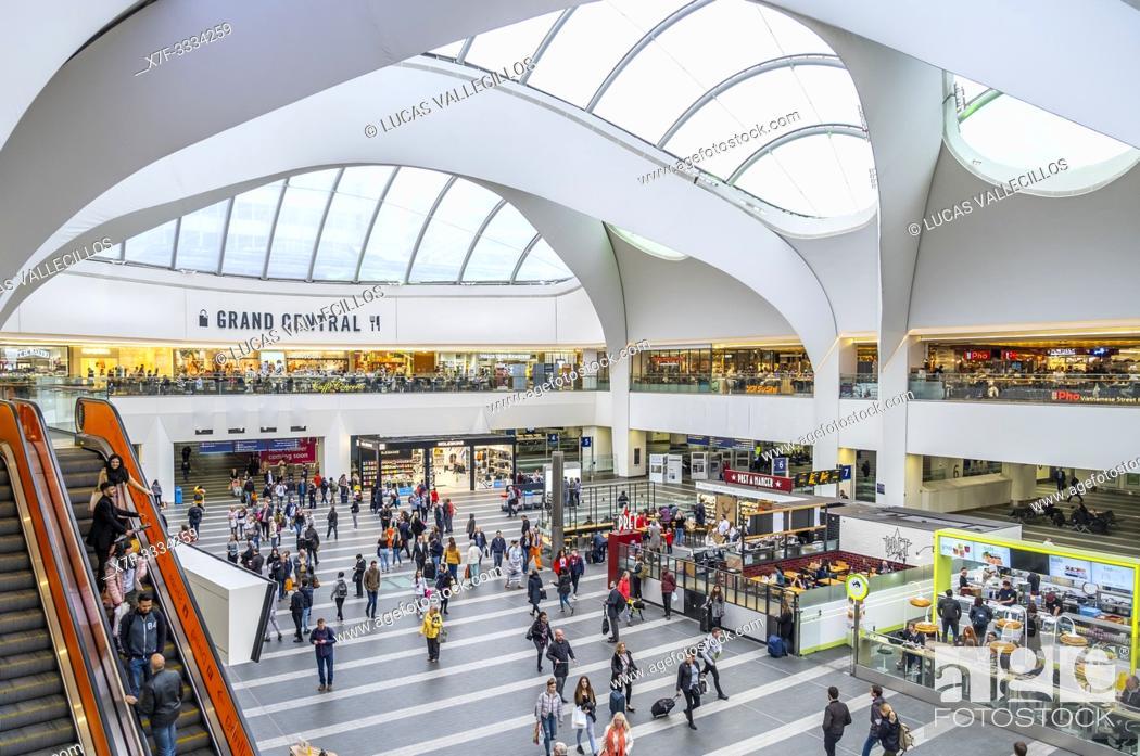 Stock Photo: Grand Central Station, Birmingham, England.