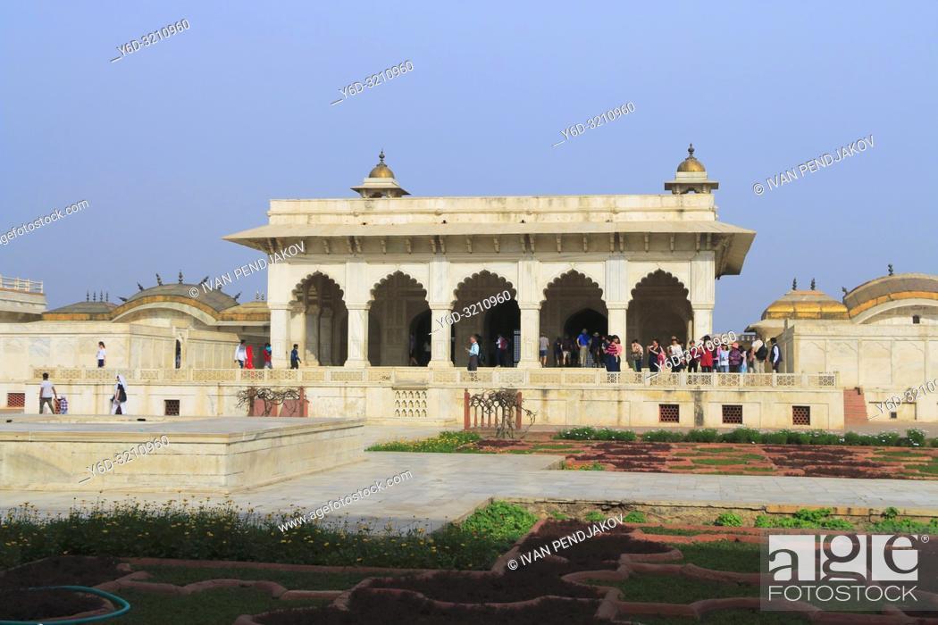 Stock Photo: Agra Fort, Uttar Pradesh, India.