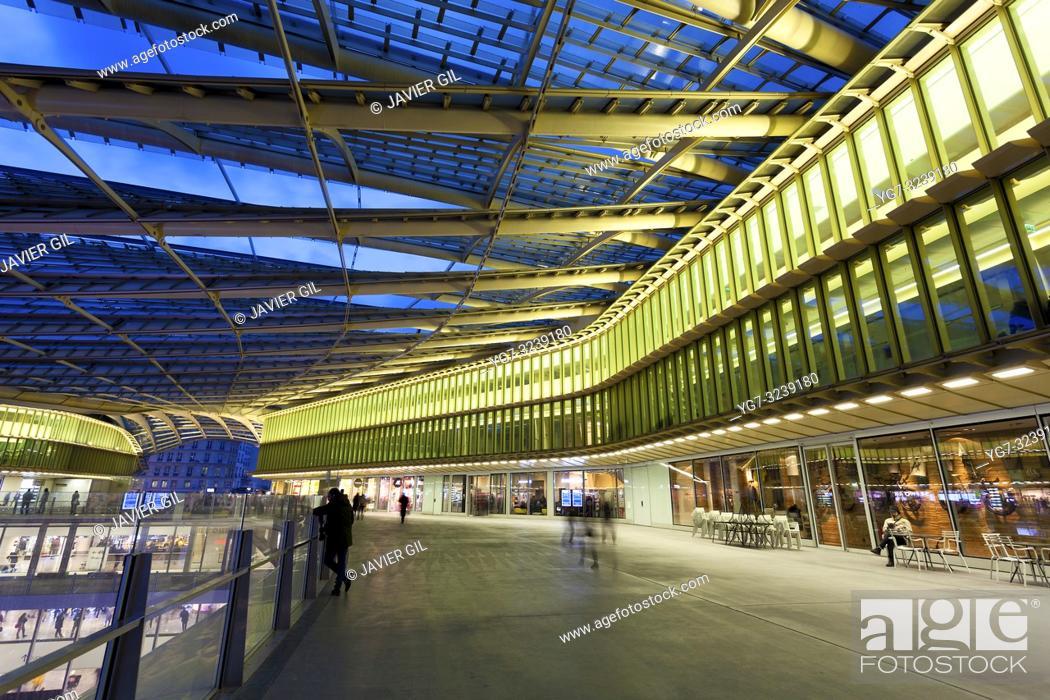 Stock Photo: Forum des Halles, Paris, France.