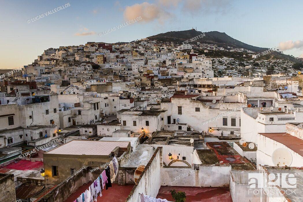 Stock Photo: Medina, UNESCO World Heritage Site, Tetouan, Morocco.