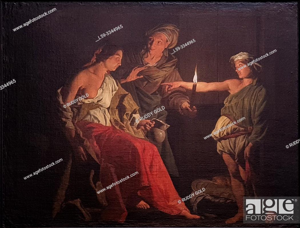 Imagen: 'The Mocking of Ceres', 1640/45, Matthias Stom (1600-1652).