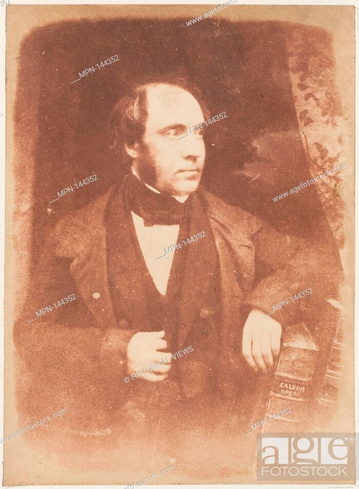 Imagen: Rev. George Lewis, Dundee. Photography Studio: Hill and Adamson (British, active 1843-1848); Artist: David Octavius Hill (British, Perth.