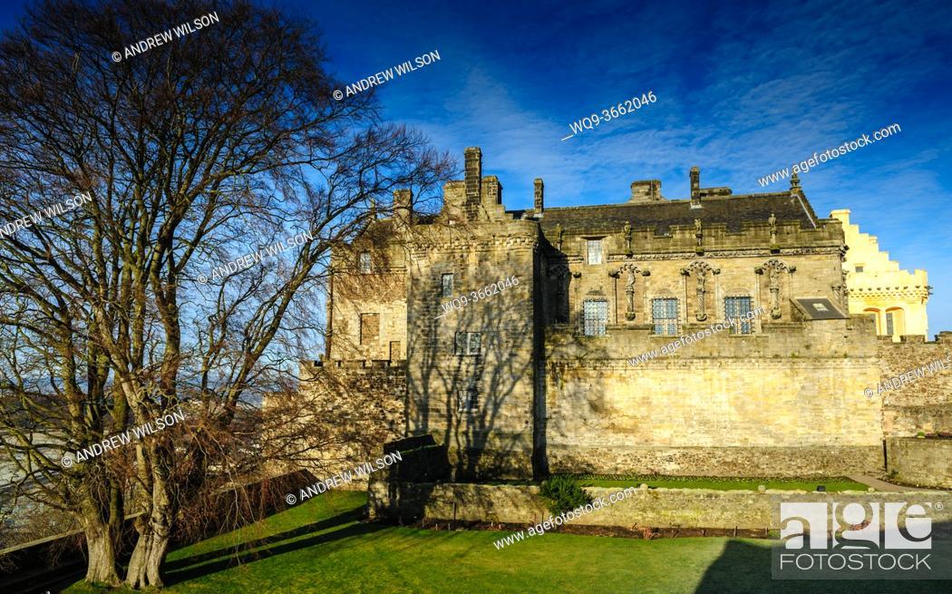 Stock Photo: Stirling Castle, Stirlingshire, Scotland.