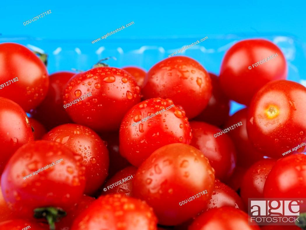 Stock Photo: plants, cherry tomato, fruit, plant.